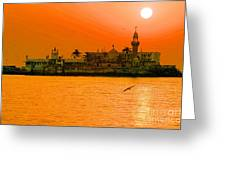 The Haji Ali Dargah Greeting Card