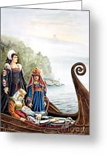 The Isle Of Avalon Greeting Card