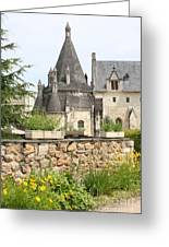 The Kitchenbuilding Of Abbey Fontevraud Greeting Card