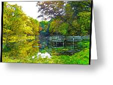 The Lake... Greeting Card
