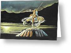 The Last Ride Greeting Card