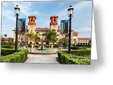The Lightner Museum Formerly The Hotel Alcazar St. Augustine Florida Greeting Card