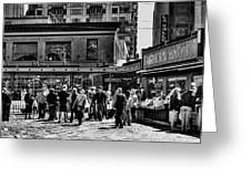 The Market At Pike Place Greeting Card by David Patterson