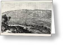 The Military Expedition To Manipur Eastern Frontier Greeting Card
