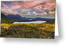 The Mourne Mountains Greeting Card