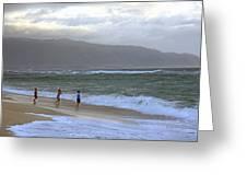The Ocean Is Calling Me Greeting Card