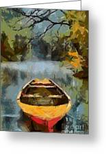 The Old Boat Greeting Card
