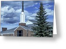 The Old Church Greeting Card
