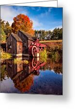 The Old Grist Mill Greeting Card
