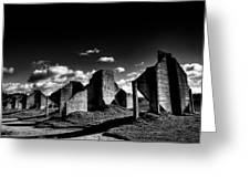The Old Quarry At #18 - Chambers Bay Golf Course Greeting Card by David Patterson