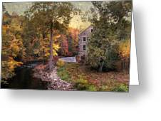 The Old Stone Mill Greeting Card