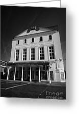 the old vic theatre London England UK Greeting Card