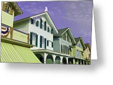 The Painted Ladies Of Cape May Greeting Card
