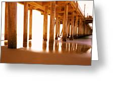 The Pier II Greeting Card