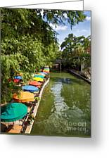 The River Walk Greeting Card