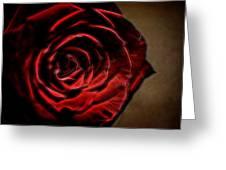 The Rose Digital Art Greeting Card