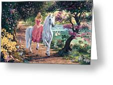 The Secret Trail Greeting Card