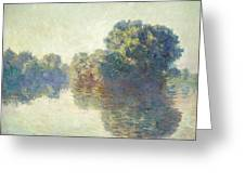 The Seine At Giverny Greeting Card
