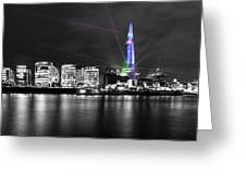 The Shard Lasers Greeting Card