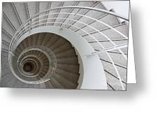 The Spiral  Greeting Card