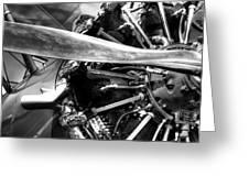 The Stearman Jacobs Aircraft Engine Greeting Card