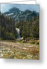 Serenity Fall Greeting Card by The Stone Age