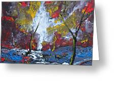 The Stream Of Light Greeting Card