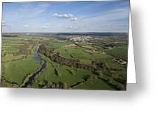 The Sèvre River, Tiffauges Greeting Card