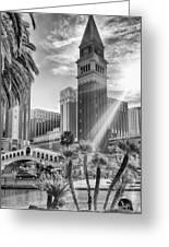 The Venetian Resort Hotel Casino Greeting Card