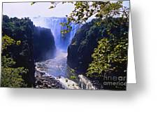 The Victoria Falls Greeting Card