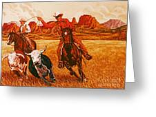 The Wranglers Greeting Card