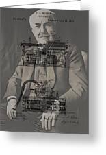 Thomas Edison's Phonograph Greeting Card