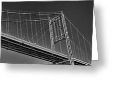 Thousand Islands Bridge Greeting Card