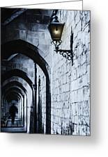 Through The Arches Greeting Card