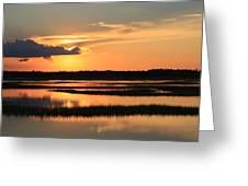 Tidal Marsh Wilmington Nc Greeting Card