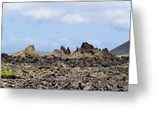 Timanfaya National Park Greeting Card