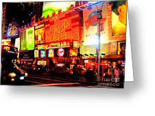 Times Square - New York Greeting Card