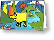 Tippy By The Bay Greeting Card