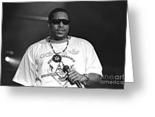 Rapper Tone Loc Greeting Card