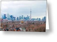 Toronto View Greeting Card