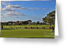 Torrey Pines Golf Course Greeting Card