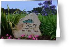 Torrey Pines South Greeting Card
