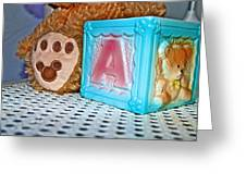 Toy Box Greeting Card