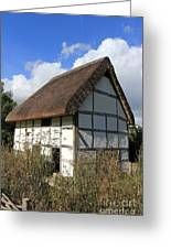 Traditional Cottage Sussex Uk Greeting Card