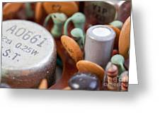 Transistors  Greeting Card by Jim Pruitt