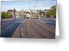 Transport Infrastructure In Amsterdam Greeting Card
