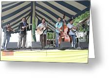 Travelin Mccourys With Keller Williams Greeting Card