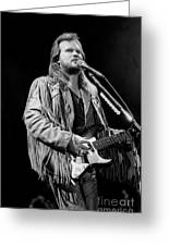 Musician Travis Tritt   Greeting Card