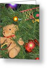 Tree Of Toys Greeting Card