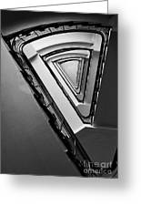 Triangle Staircase Greeting Card
